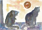 Two_cats_and_moon