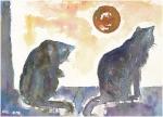Deux_chats_et_la_lune